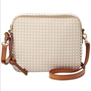 Fossil Sydney Polkadot Crossbody Bag LIKE NEW